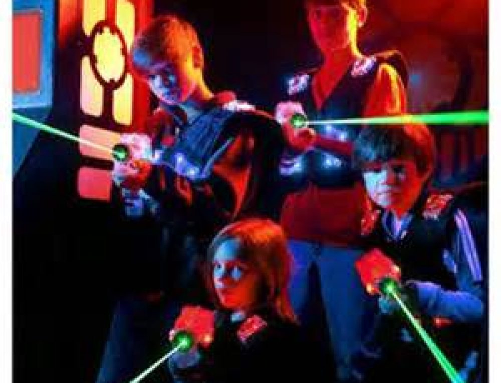 High School Youth Ministry – LASER TAG