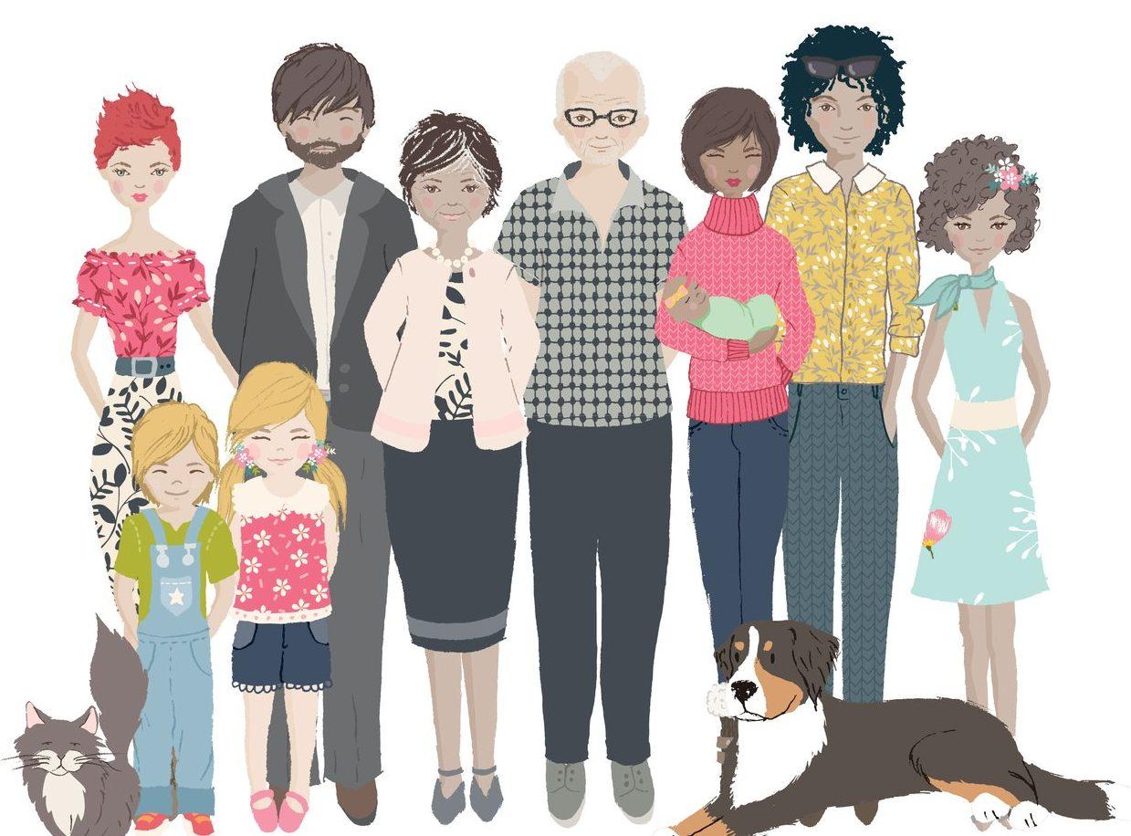 STA Directory – Family Portrait