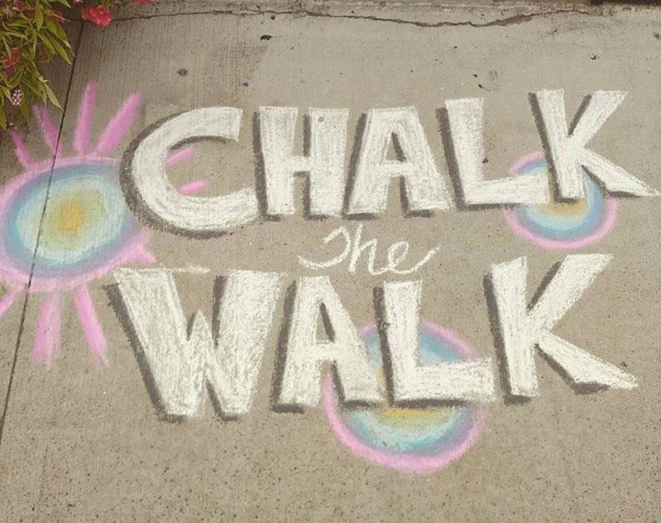 STA Chalk The Walk