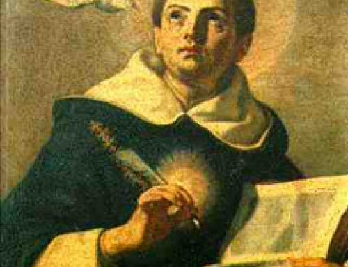 FEAST DAY OF ST. THOMAS AQUINAS – JANUARY 28
