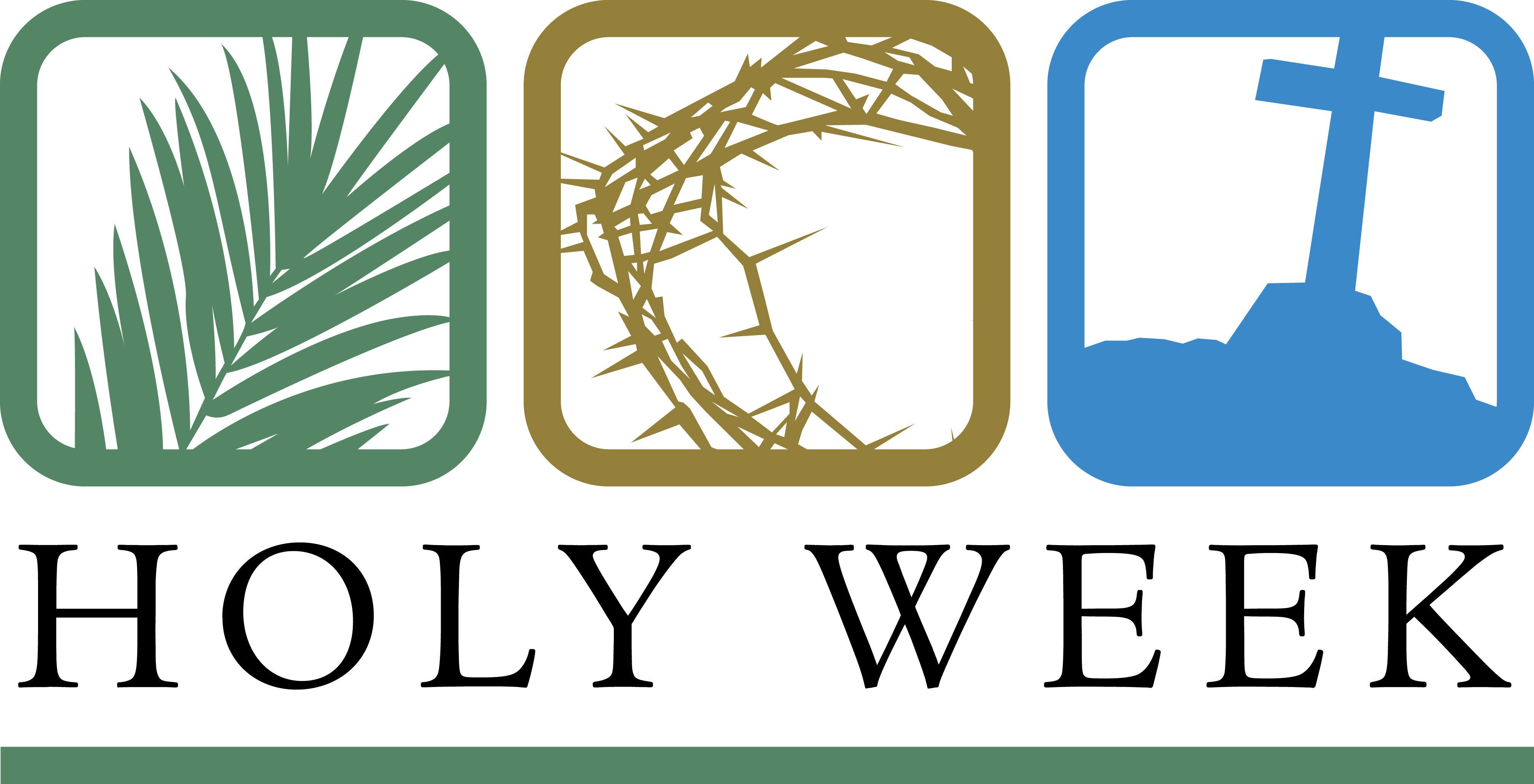 Mass Schedule for Holy Week